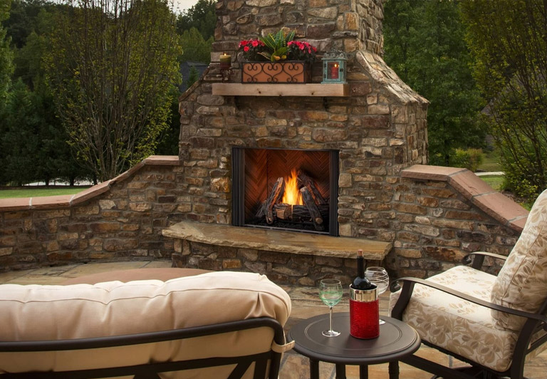 my fireplace outdoor fireplaces